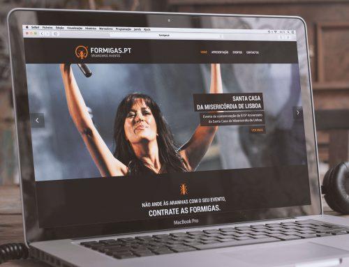 FORMIGAS.PT WEBSITE